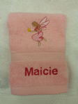 LITTLE FAIRY PERSONALISED FACE CLOTH FLANNEL